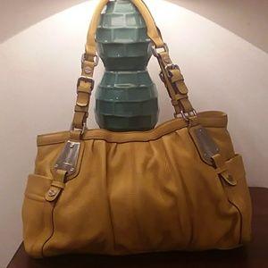 B.Makowsky Leather Hobo bag